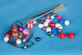 Handwork. beads kits for making jewelry — Stock Photo
