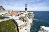 Scenic lighthouse Gibraltar — Stock Photo