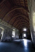 Doune Castle Main Hall — Stock Photo