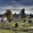 Ancient Spooky Graveyard, — Stock Photo #13747859