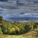 Scottish Countryside Cloudscape — Stock Photo #13748637