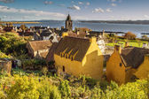 Beautiful Seaside View in Culross — Stock Photo