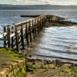 Culross Pier Scotland — Stock Photo
