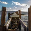 Detailed view of an old Pier — Stock Photo