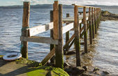 An old Pier in Scotland — Stock Photo