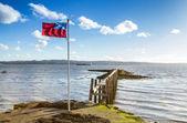 Ohromující molo ve skotsku — Stock fotografie