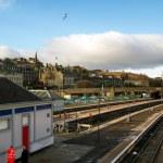 Stirling train station — Stock Photo