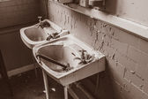 Abandoned toilet — Foto Stock