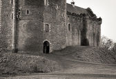 Entrance to Scottish Castle — Stock Photo