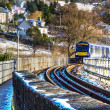 Train in Perth Scotland — Stock Photo