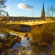 River Tay in Perth Scotland — Stock Photo