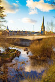 Afternoon sun on the River Tay — Stock Photo
