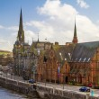 Perth by the River Tay — Stock Photo
