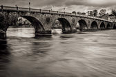 Wild River in Perth Scotland — Stock Photo