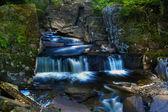 Blue waterfall — Stock Photo