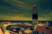 Gibraltar Lighthouse in Sunshine — Stock Photo