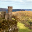 Kinnoull hill and surrounding woodland — Stock Photo