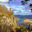 Kinnoull hill Castle — Stock Photo #25977553
