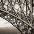 Detailed view of the Forth Rail Bridge — Stock Photo