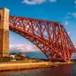 Forth Rail bridge long View — Stock Photo #25978503