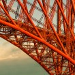 Stock Photo: Forth Rail Bridge Detailed