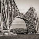 The Forth Rail Bridge in Edinburgh Scotland — Stock Photo #25978735