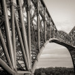 Stock Photo: Forth Bridge Close