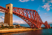 The Forth Rail bridge long View — Stock Photo
