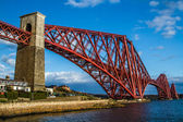 The Forth Rail Bridge in Scotland — Stock Photo