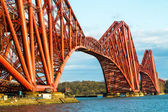 Shot of the Forth Bridge in Scotland — Stock Photo