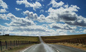 Road to a dramatic Sky — Stock Photo