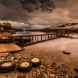 Evening Scottish Loch — Stock Photo #31117543