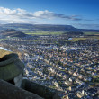 Stirling from Wallace Monument in Scotland — Stock Photo #40786121
