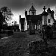 Shot of Church of holy Rude Graveyard in Stirling — Stock Photo #40787093