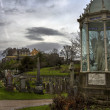 Stirling Castle from ancient Graveyard — Stock Photo #40789591