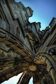 Detailed Architecture at top of Wallace Monument — Stock Photo