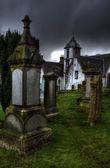 Igreja de holy rude cemitério em stirling — Fotografia Stock