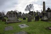 Graveyard in Stirling — Stock Photo