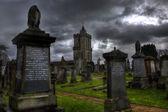 Stirling Castle Graveyard — Stock Photo
