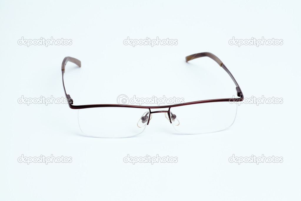 Eyeglasses on a white background — Stock Photo #13250479