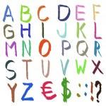 Colored alphabet — Stock Photo #13996848