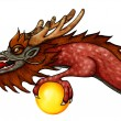 Stock Photo: East Dragon