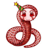 Happy Chinese New year 2013 : year of the snake — Stock Photo