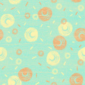 Seamless pattern with night sky, stars and moons — Foto Stock