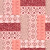 Vivid floral pattern — Stock Photo