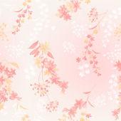 Květinový vzor bezešvé — Stock fotografie