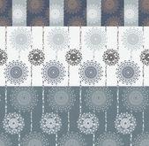 Vivid seamless floral pattern — Stock Photo