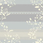 Vivid repeating floral pattern — Stock Photo