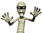 Horror mummy — Stock Photo