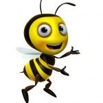 abeille Cartoon — Photo